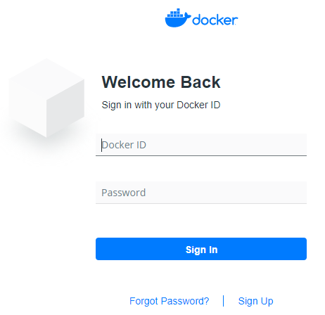 docker-sign-in