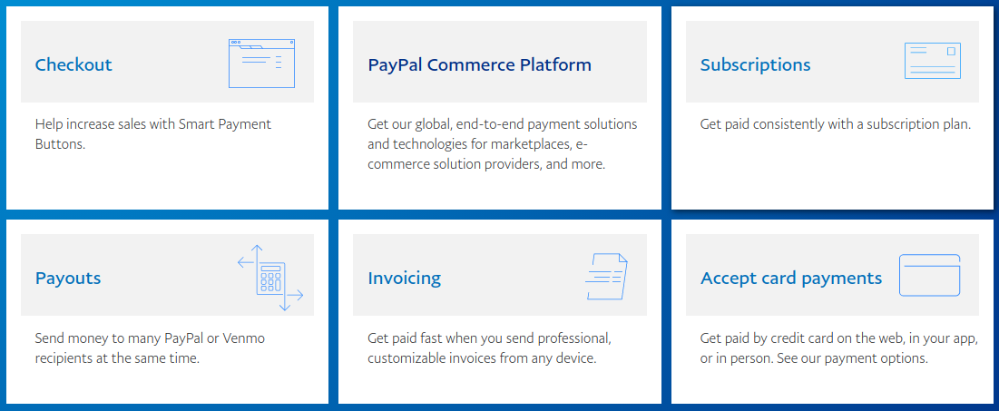paypal solutions