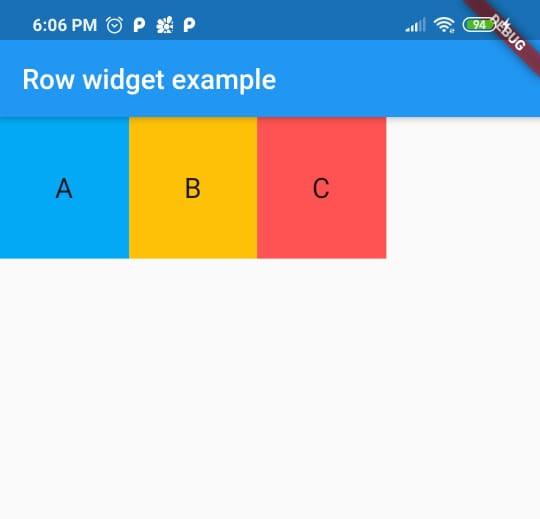 icon widget